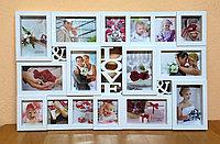 """Фоторамка """"LOVE"""", на 16 фото, фото 1"""