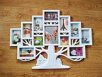"""Фоторамка """"Древо Family"""", на 12 фото"""