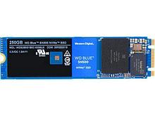 Western Digital WDS250G1B0C Твердотельный накопитель 250GB SSD 3D NAND M.2 PCIe NVMe Type 2280 R1700Mb/s W1300