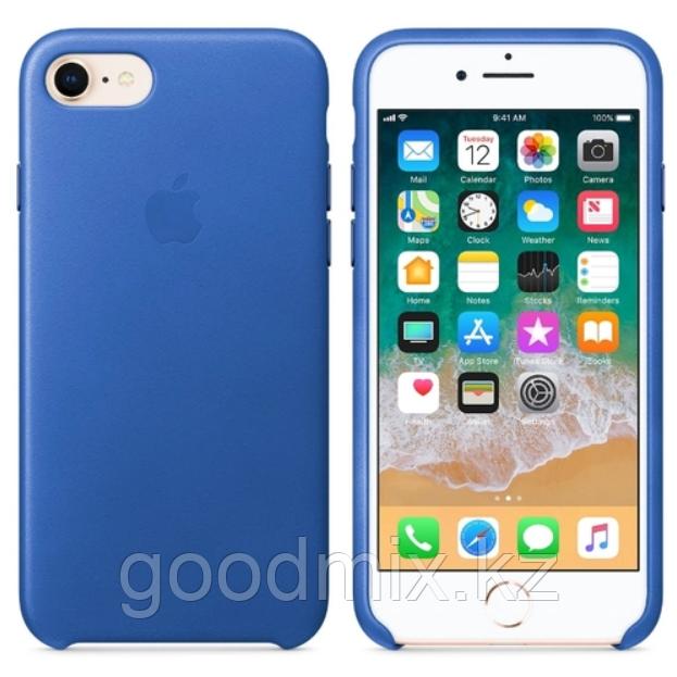 Силиконовый чехол для iPhone 6/6s (синий)