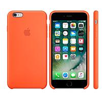 Силиконовый чехол для iPhone 6/6s (оранжевый)