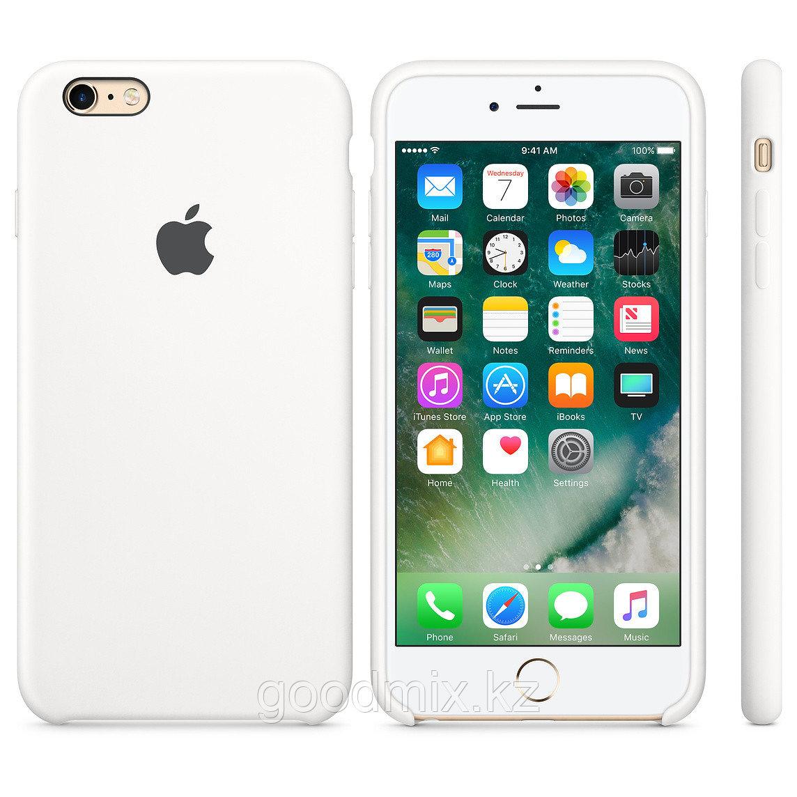 Силиконовый чехол для iPhone 6/6s (белый)