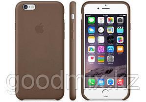 Силиконовый чехол для iPhone 6/6s (коричневый)