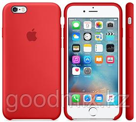 Силиконовый чехол для iPhone 6 Plus/6s Plus (красный)