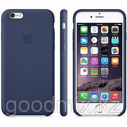 Силиконовый чехол для iPhone 6 Plus/6s Plus (темно-синий)