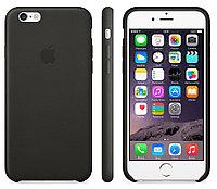 Силиконовый чехол для iPhone 6 Plus/6s Plus (черный)
