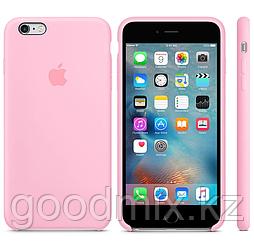 Силиконовый чехол для iPhone 6 Plus/6s Plus (розовый)