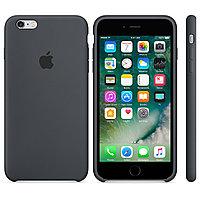Силиконовый чехол для iPhone 6 Plus/6s Plus (серый)