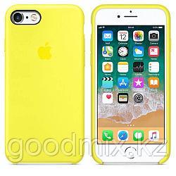 Силиконовый чехол для iPhone 6 Plus/6s Plus (желтый)