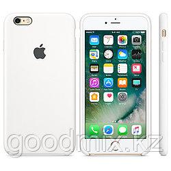 Силиконовый чехол для iPhone 6 Plus/6s Plus (белый)