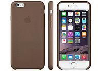 Силиконовый чехол для iPhone 6 Plus/6s Plus (коричневый)