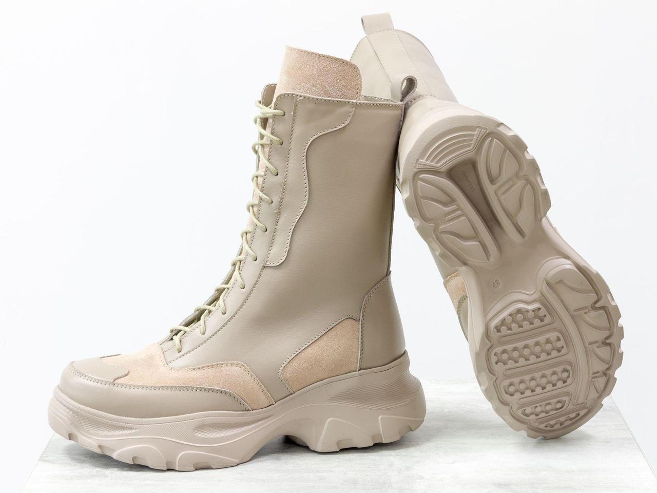 Высокие ботинки берцы 40 размер - фото 6