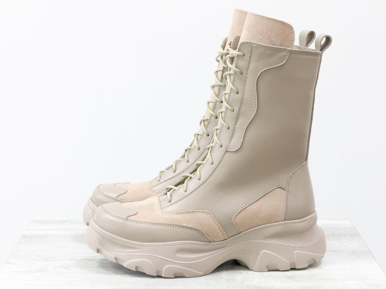 Высокие ботинки берцы 40 размер - фото 7