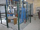 Ворота для Забора из  сетки  3D, фото 4