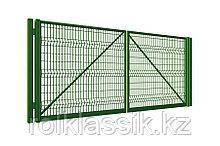 Ворота для Забора из  сетки  3D