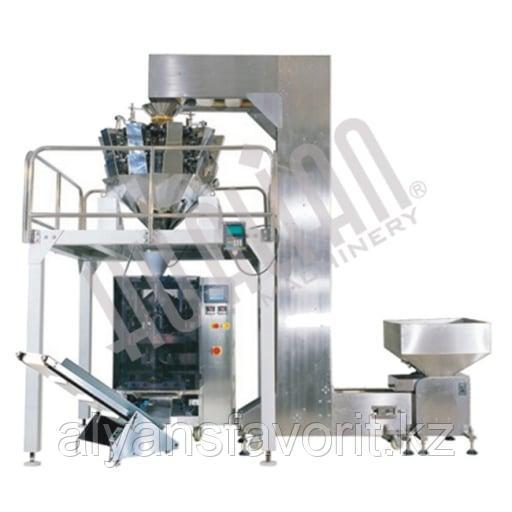 Автоматическая комбинированная линия для взвешивания и упаковки