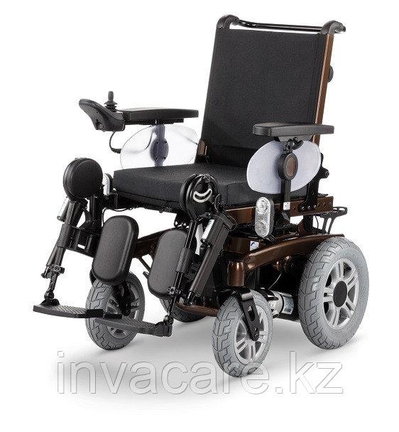 Инвалидная кресло-коляска с электроприводом MEYRA iChair MC2, пробег до 40 км, подъем 15%