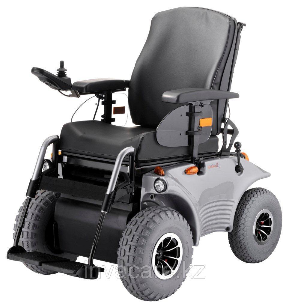 Электрическая инвалидная коляска MEYRA OPTIMUS 2 ELITE повышенной проходимости, 60 км, подъем 18%