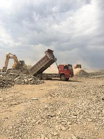 Строительство земельного полотна. Балхашская ТЭС. BI Group Construction 2