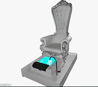 Изысканное педикюрное кресло для косметологических салонов с подсветкой