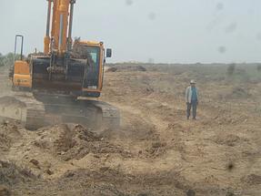 Строительство автодороги Алматы-Хоргос 1