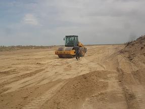 Строительство автодороги Алматы-Хоргос 7