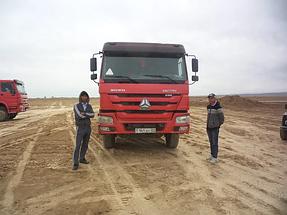 Строительство автодороги Алматы-Хоргос 10