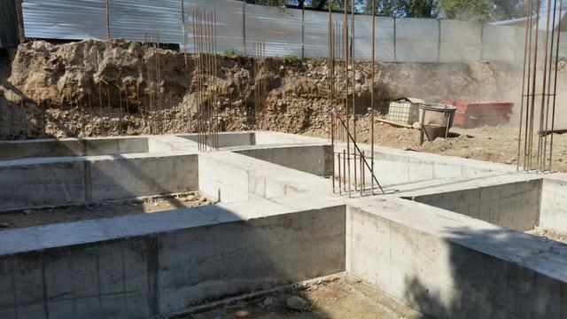 Строительство жилого комплекса на Жетысуйской-Пастера, г Алматы -1