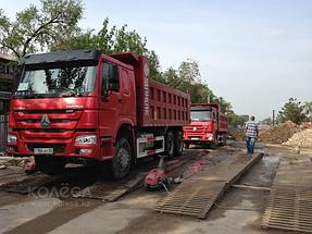 Строительство дороги Западная Европа-Западный Китай. 10