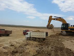 Строительство земельного полотна железной дороги Жезказган-Бейнеу 4