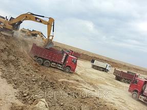 Строительство земельного полотна железной дороги Жезказган-Бейнеу 5