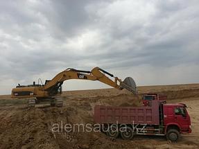 Строительство земельного полотна железной дороги Жезказган-Бейнеу 6