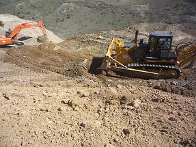 Прокладка водопроводной трубы из Киргизстана в Казахстан 1