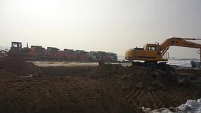 Строительство базы и футбольных полей Кайрат, Алматы. 4