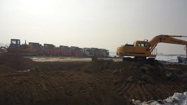 Строительство базы и футбольных полей Кайрат, Алматы. -1