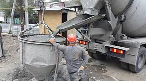 Продажа товарного бетона М350 на проект Жетсуйская-Пастера 5