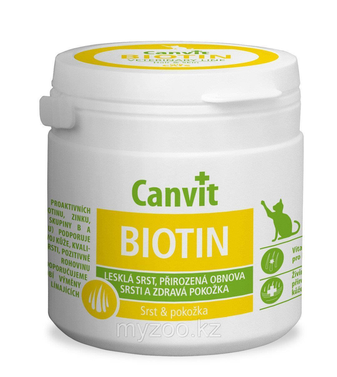 Canvit Biotin,Канвит биотин витамины для кошек 100 тб