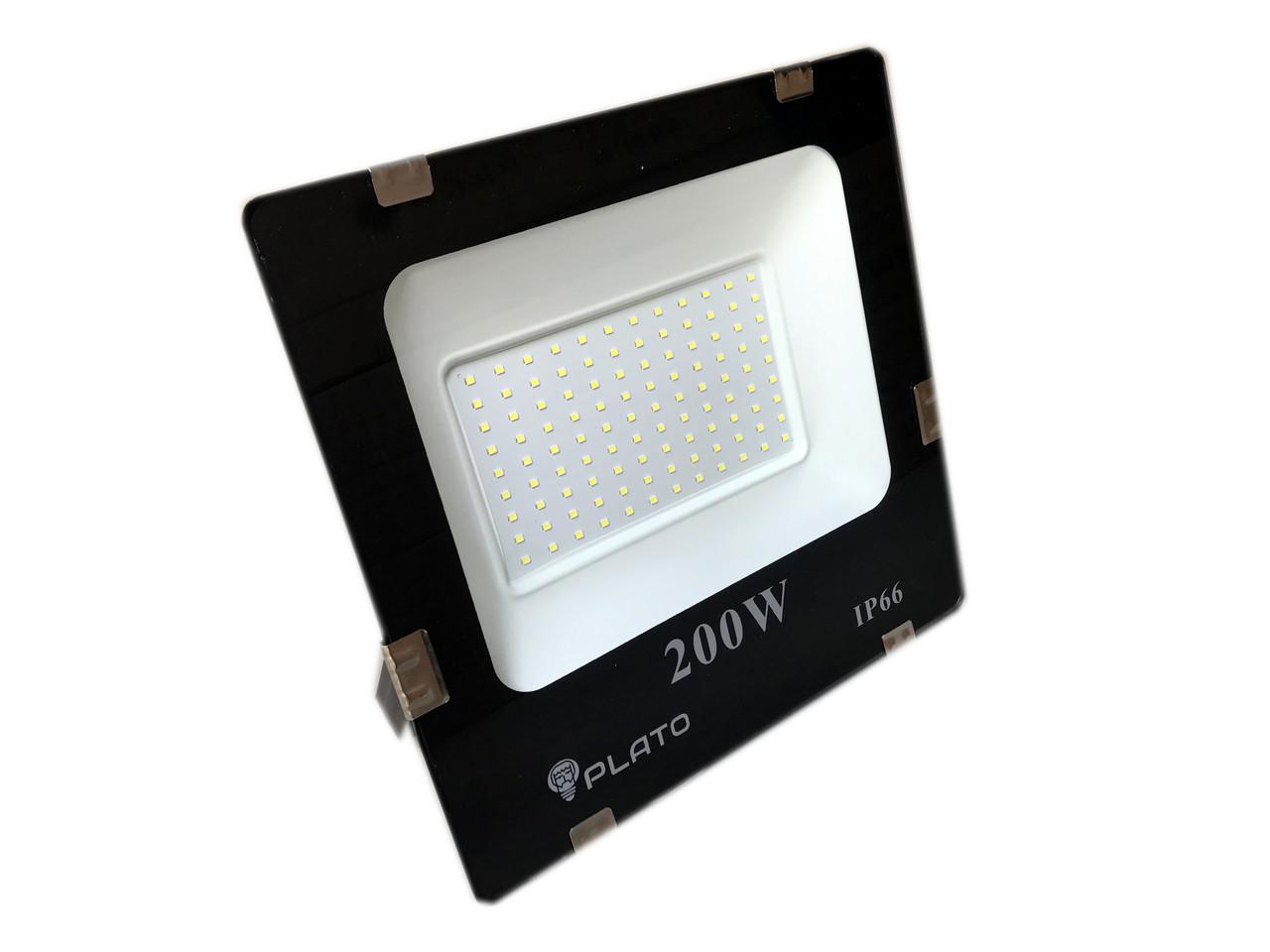 Светодиодный прожектор PLATO 200 W, 6500K
