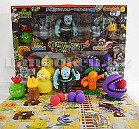 Набор фигурок растения против зомби Plants vs zombies (3 зомби , 5 растений, 6 боеприпасов) 130-19