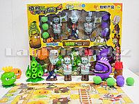 Набор фигурок растения против зомби Plants vs zombies (3 зомби , 5 растений, 6 боеприпасов) 130-20
