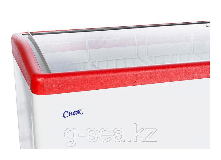 Морозильный ларь Снеж МЛГ-350 красный