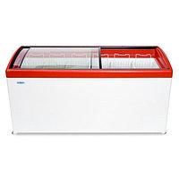 Морозильный ларь Снеж МЛГ -500 красный