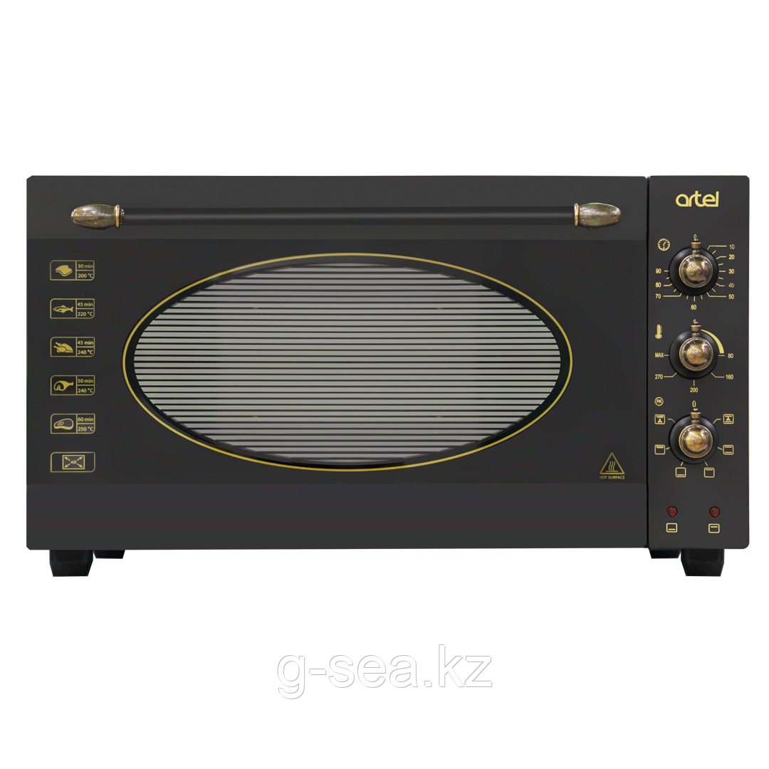 Мини- печь Artel MD 4218 L RETRO, черный