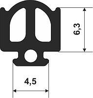 CON-56 S, уплотнитель для алюминиевых профилей (HOFFMANN)