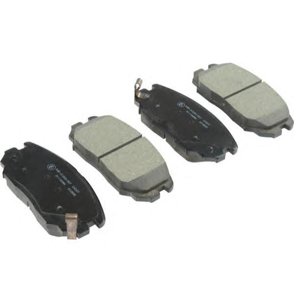 Тормозные колодки Hyundai Sonata (2005-2009)