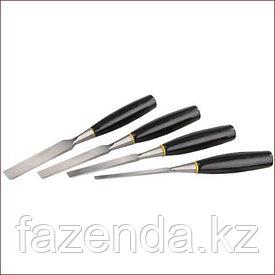 Набор стамески с пластмассовой ручкой , 6; 12; 16; 20; 25ММ, 5ШТ