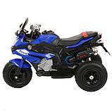 PITUSO: Электромотоцикл HLX2018, 6V/7Ah Blue/ Синий (музыка,свет) HLX2018, фото 2