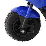 PITUSO: Электромотоцикл HLX2018, 6V/7Ah Blue/ Синий (музыка,свет) HLX2018, фото 5