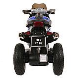 PITUSO: Электромотоцикл HLX2018, 6V/7Ah Blue/ Синий (музыка,свет) HLX2018, фото 6