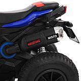 PITUSO: Электромотоцикл HLX2018, 6V/7Ah Blue/ Синий (музыка,свет) HLX2018, фото 8